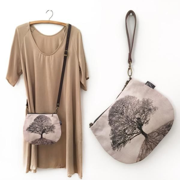 2-in-1 Crossbody / Clutch - The Secret Life of Trees