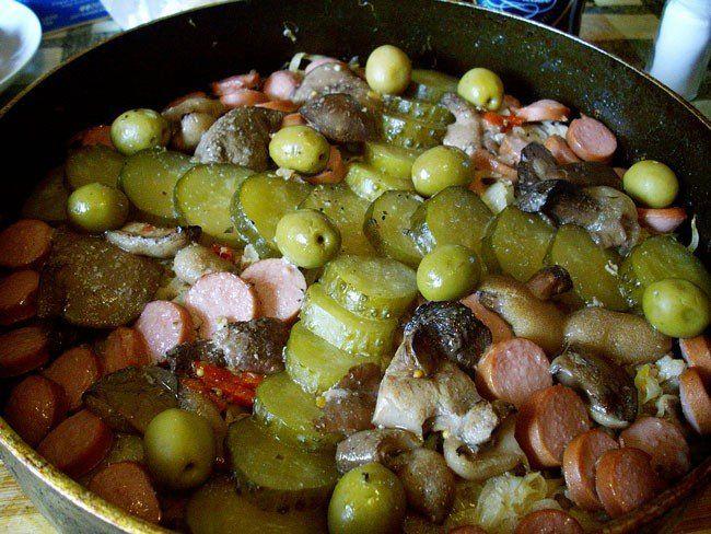 Bon Appetit - Селянка московская (мясная) на сковороде