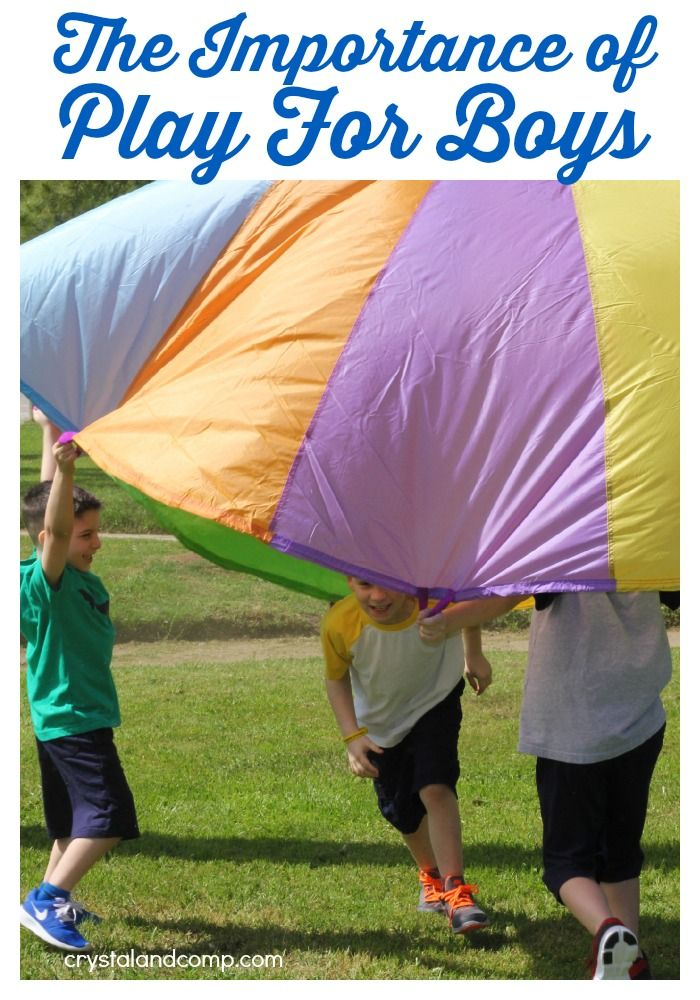 The Importance of Play for Boys #hopnroll ad
