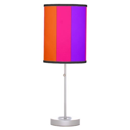 44 best lamp shade designs by celeste images on pinterest lamp shop bright orange hot pink and purple lamp shade created by celestesheffey aloadofball Gallery
