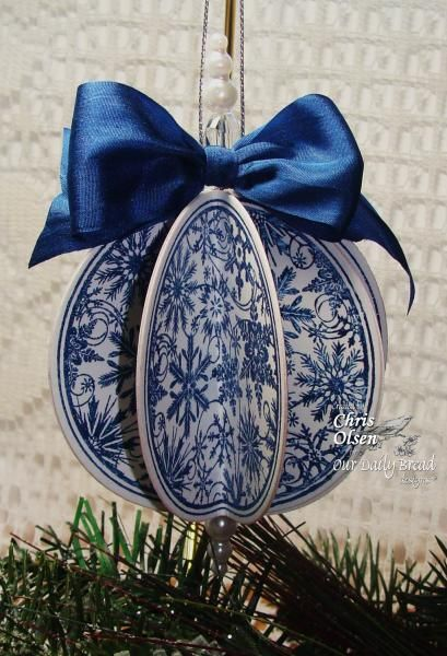 Snowflake Pattern Ornament