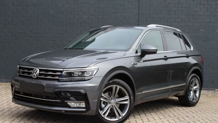 2016 VW Tiguan Connected series R Line   Indium Grey
