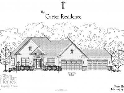 The Carter Residence | Floor Plans | 3 Pillar Homes