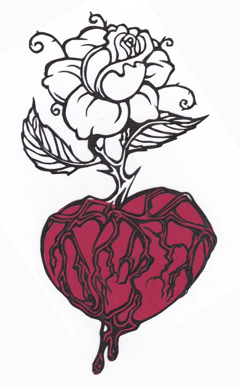 Bleeding Heart by Sue Maynes