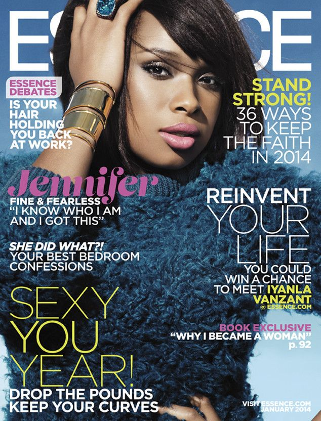 Jennifer Hudson looks radiant as she graces the January cover of Essence magazine!