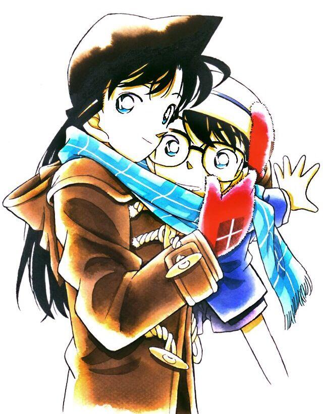 Ran and Conan - Detective Conan ❤