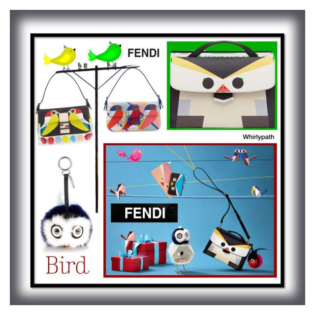 Fendi Bird! by whirlypath on Polyvore featuring Fendi and modern