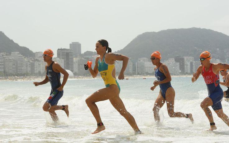 #トライアスロン 女子の上田藍選手、39位入賞です #オリンピック #リオ2016