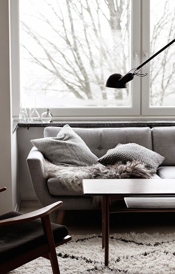 Cozy living room by Johanne Dueholm