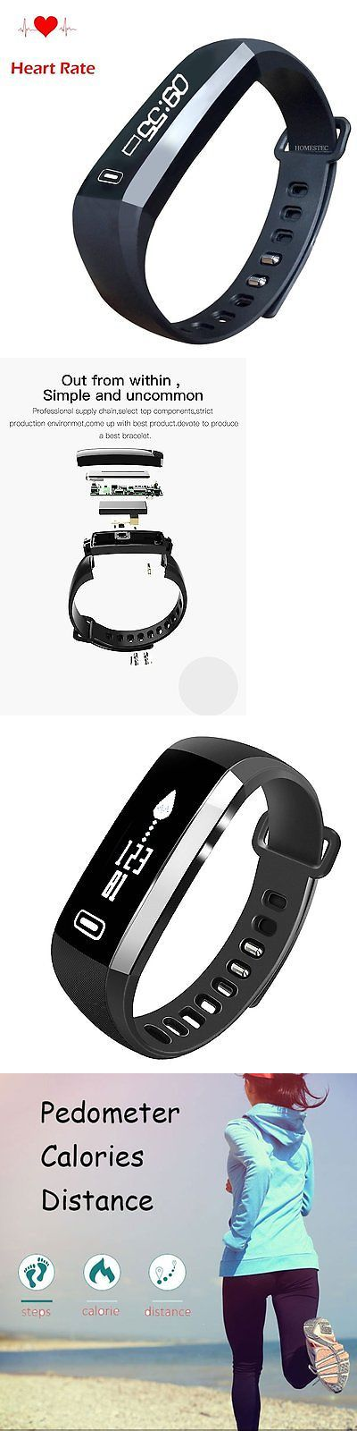 Heart Rate Monitors 15277: Homestec S2b Smart Watch Fitness Tracker With Heart Pulse Rate Monitor Sleepin -> BUY IT NOW ONLY: $31.95 on eBay!