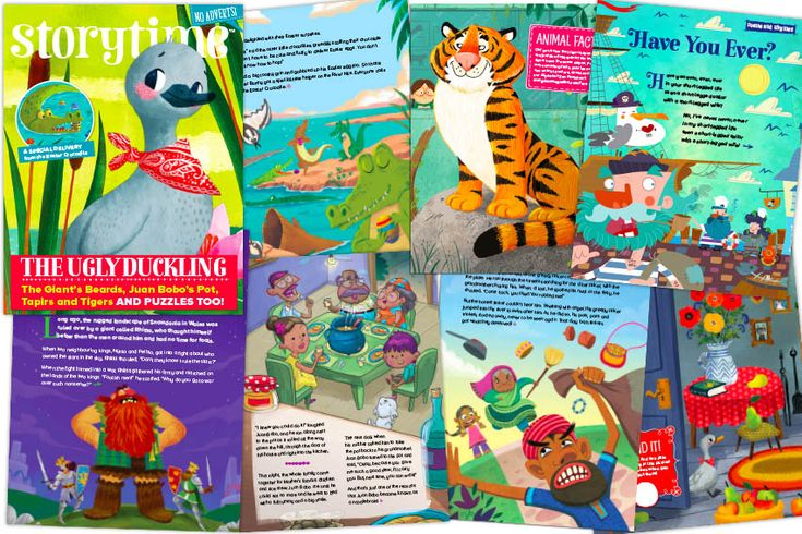 A flavour of what's inside our latest Storytime Issue 43 –Ugly Duckling, an Easter crocodile, tapirs, tigers, action rhymes, a Welsh legend, a story from Puerto Rick and more! ~ STORYTIMEMAGAZINE.COM