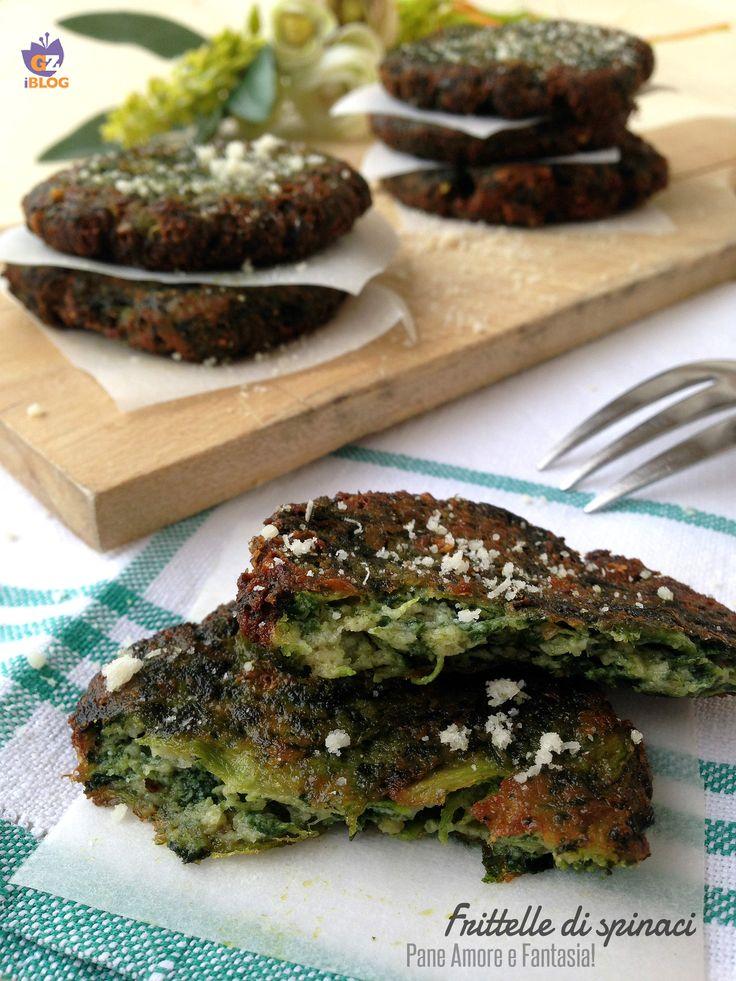 Frittelle di spinaci, ricetta facile ed economica