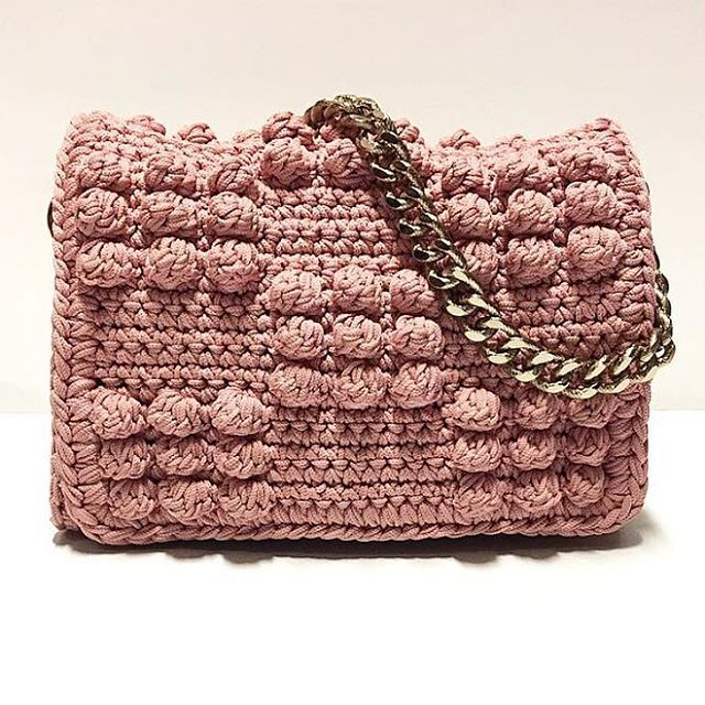 When the inspiration from Ancient Greece creates trendy bubbles bag.... #chic #unique #instyle #ss17 #loveit #pink #bubbles