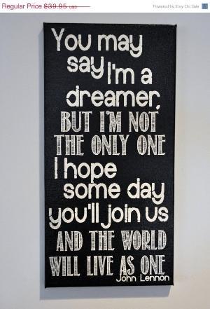 John Lennon: The Beatles, Wall Art, Wall Decor, Rooms Wall, Canvas Art, Bedrooms Kids, John Lennon, Art Wall, Kids Rooms