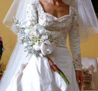 braçada, branco, buquê, casamento, noiva, orquídeas, verde, Edla Barros