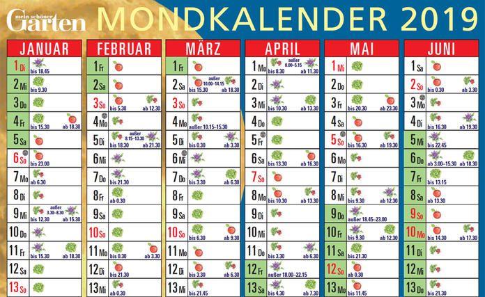 Mondkalender Gartnern Nach Dem Mond Mondkalender Garten Mond Garten Mondkalender