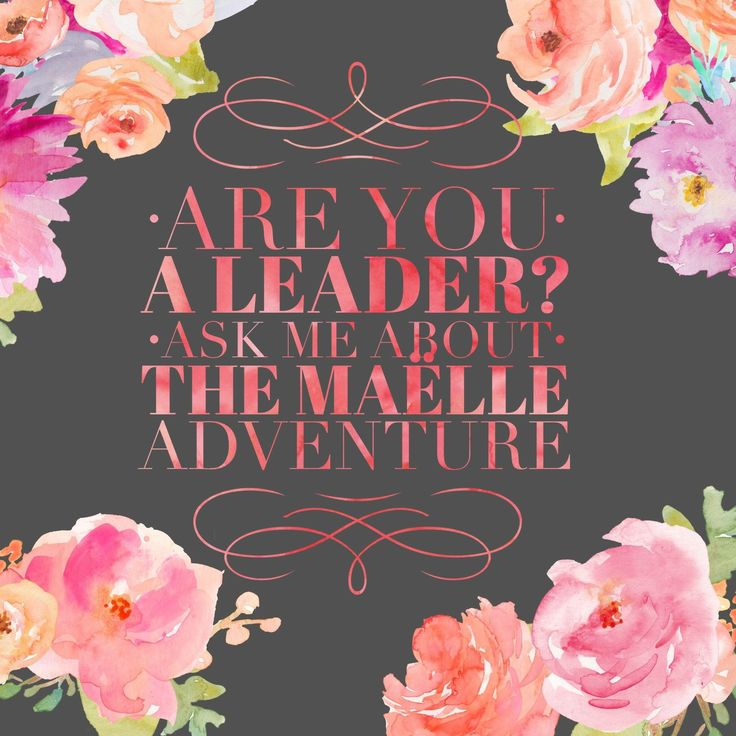 Are you a leader? Contact @maellehannah to learn more about working from home! #workfromhome #leaderssucceed #maellemafia #maellehannah #joinmeorwatchme maellemafia.com