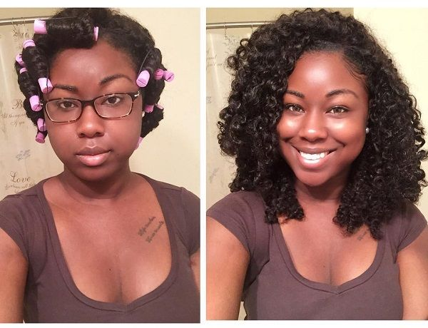 curly twist out natural hairstyle