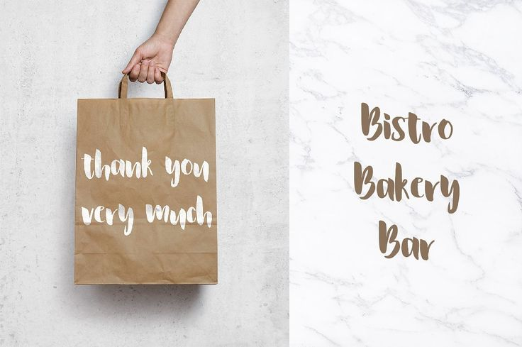 La Fontaine Brush Font by MilkLetters on @creativemarket