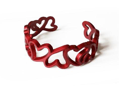 MyLove bracciale in alluminio, disponibile solo su http://shop.auralma.com/bracciale-my-love #bijoux #fashion #accessories