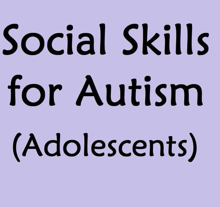 Social Skills for Autism: Adolescents and Children with High Functioning Autism