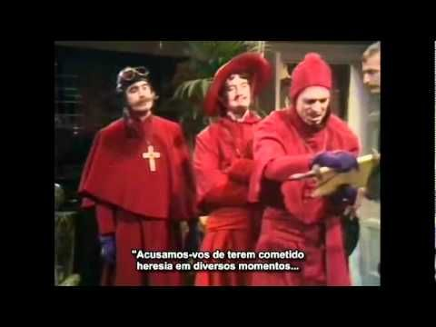 Monty Python -The Spanish inquisition( Inquisição Espanhola (Spanish Inquisition) - Legendado