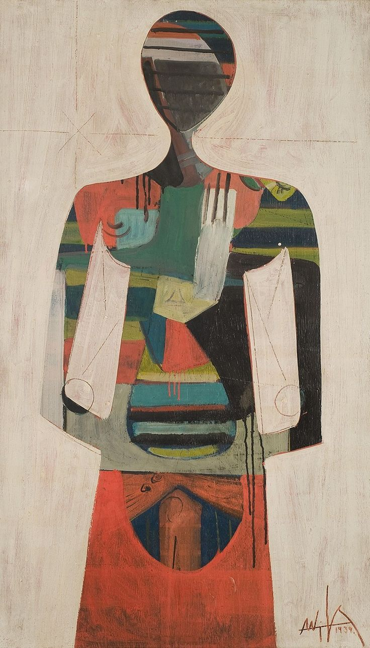 Wilfredo Lam - Figure, 1939