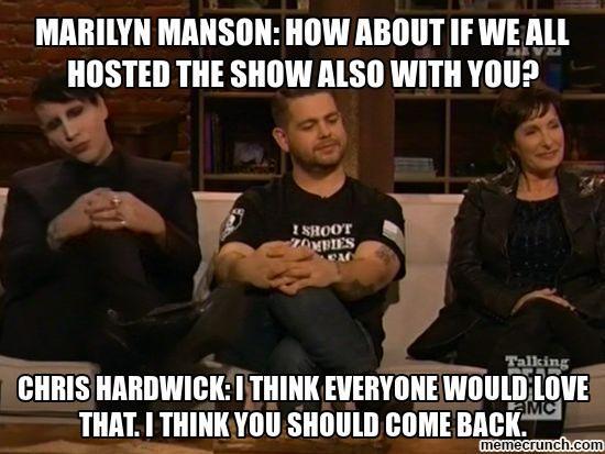 Marilyn Manson: New host of The Talking Dead?