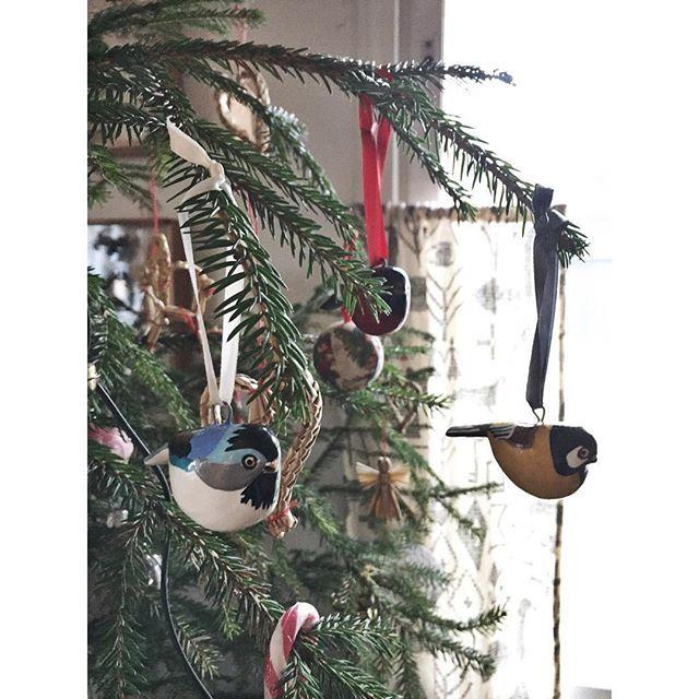 Kiitos @mifuko_official joululahjasta ❤️ #linnut #birds #christmasornament #mifuko