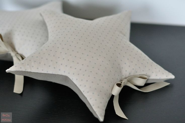 sewing idea: star cushion