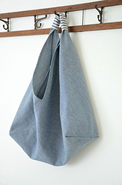 Download Origami Market Bag Sewing Pattern (FREE)