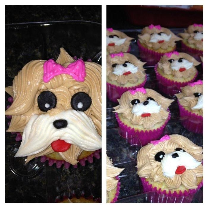 Puppy Cupcakes - Cake by Tami Morrow