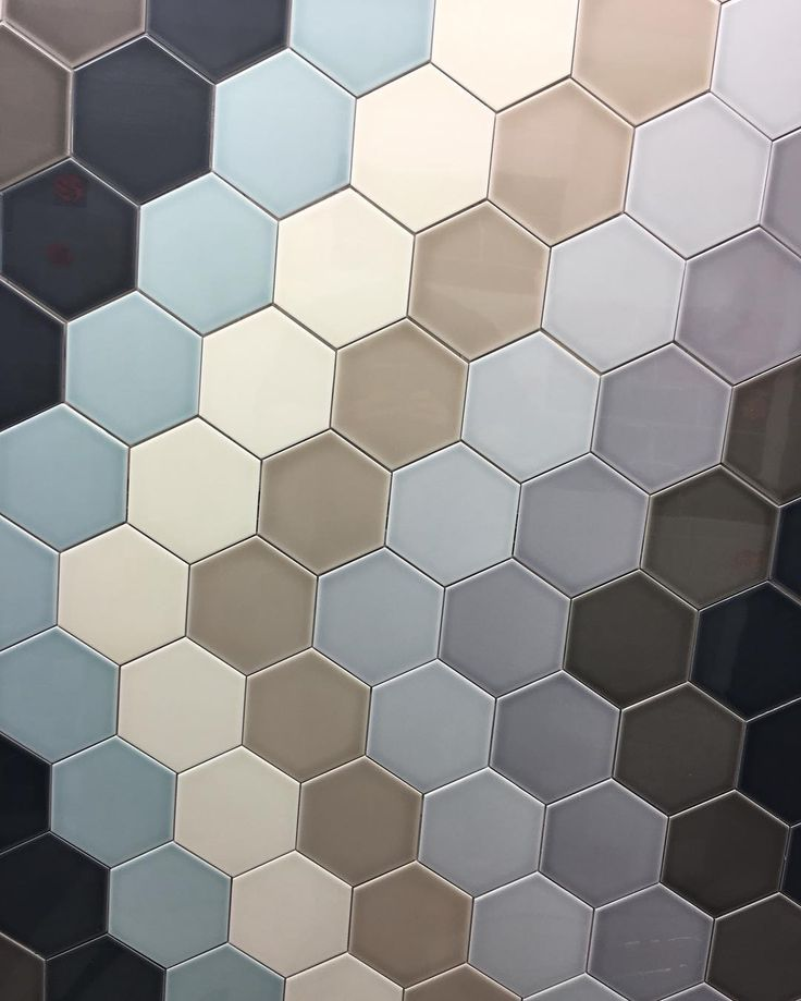 New Display At Horncastle Tiles #hexagontiles #hexagon #homeimprovement #horncasle #tiles #wall #lincolnshire #horncastle