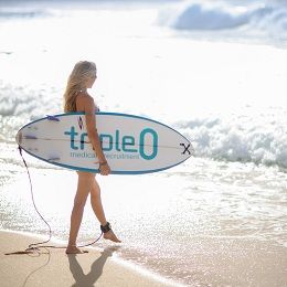 Nathalie Epperlein - An enviable beach lifestyle.  http://www.triple0.com/media/2/news/46/enviable-beach-lifestyle.aspx