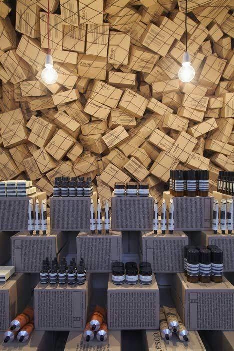 ECOMANIA BLOG: Reciclando en Locales Comerciales, Decoración