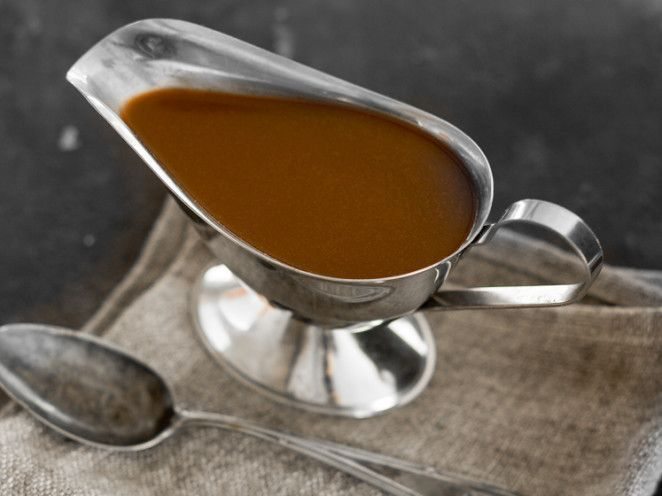 Dunkle Bratensauce (Demi Glace)