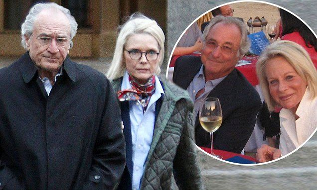 Robert De Niro and Michelle Pfeiffer film The Wizard Of Lies in NYC