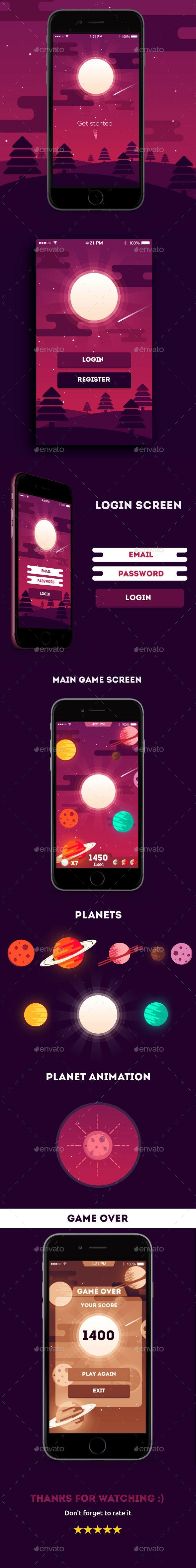 Apocalypse Game App UI Design Kit - User Interfaces Game Assets