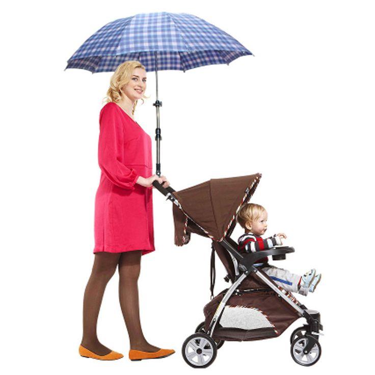 Plastic Umbrella Stands Adjustable Wheelchair Bicycle Pram Swivel Umbrella Connector Stroller Holder Stroller Accessories