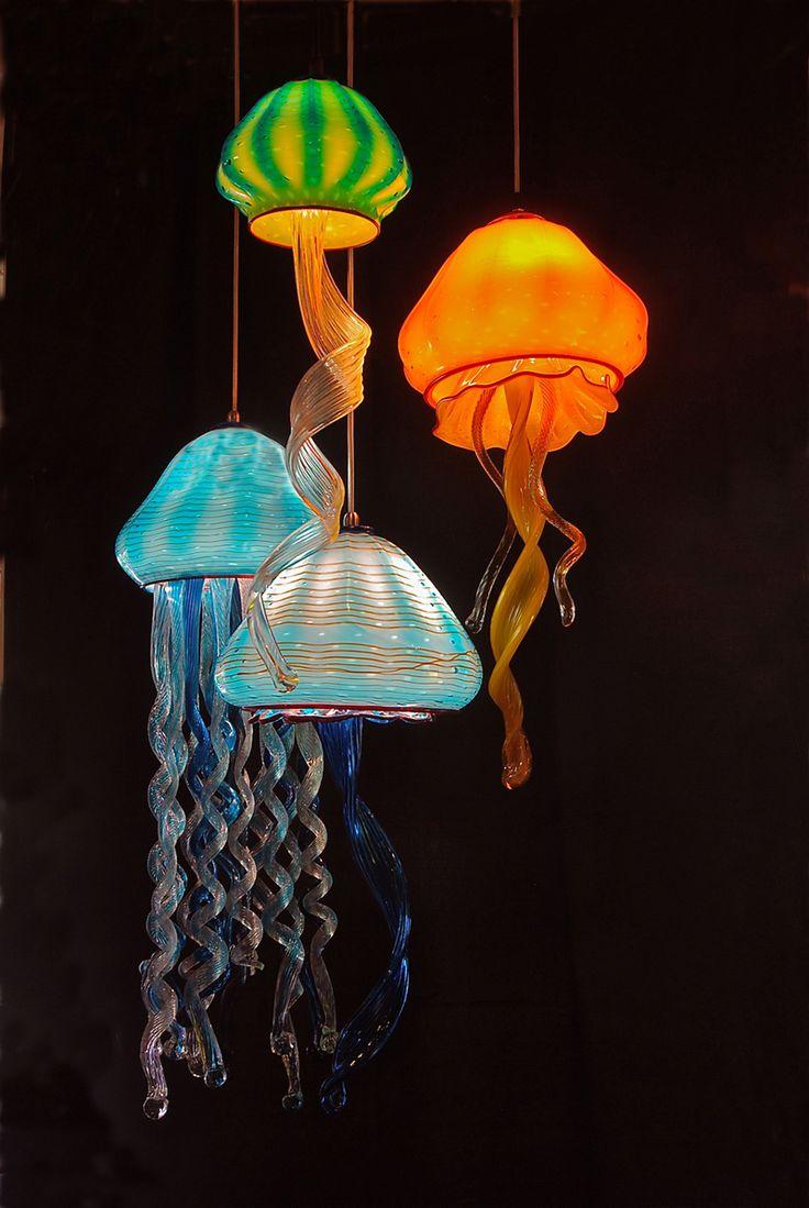 Jellyfish Pendant Light