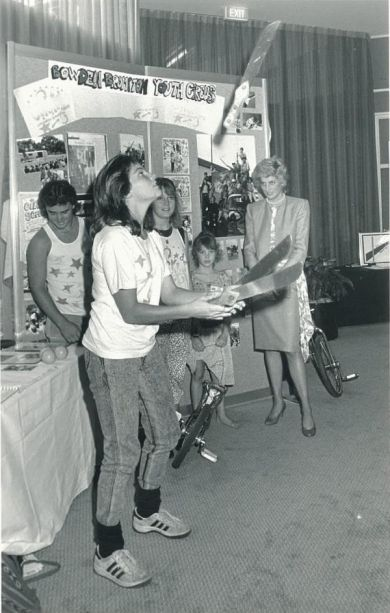 1988-01-30 Diana at the Adelaide Youth Festival