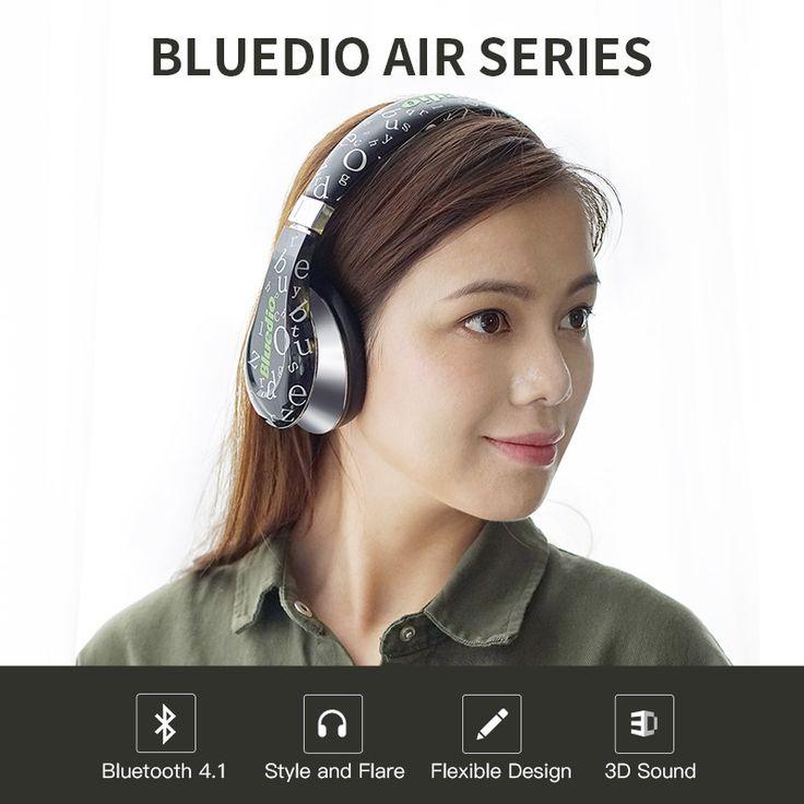2017 Rushed Earphones Original Bluedio A(Air) New Model Bluetooth Headphones/wireless Headset Fashionable Headphones for Mp3 //Price: $50.39//     #Gadget