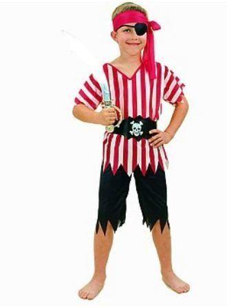 Piraten kleding voor kinderen #piraat #pratenpak #piratenkostuum