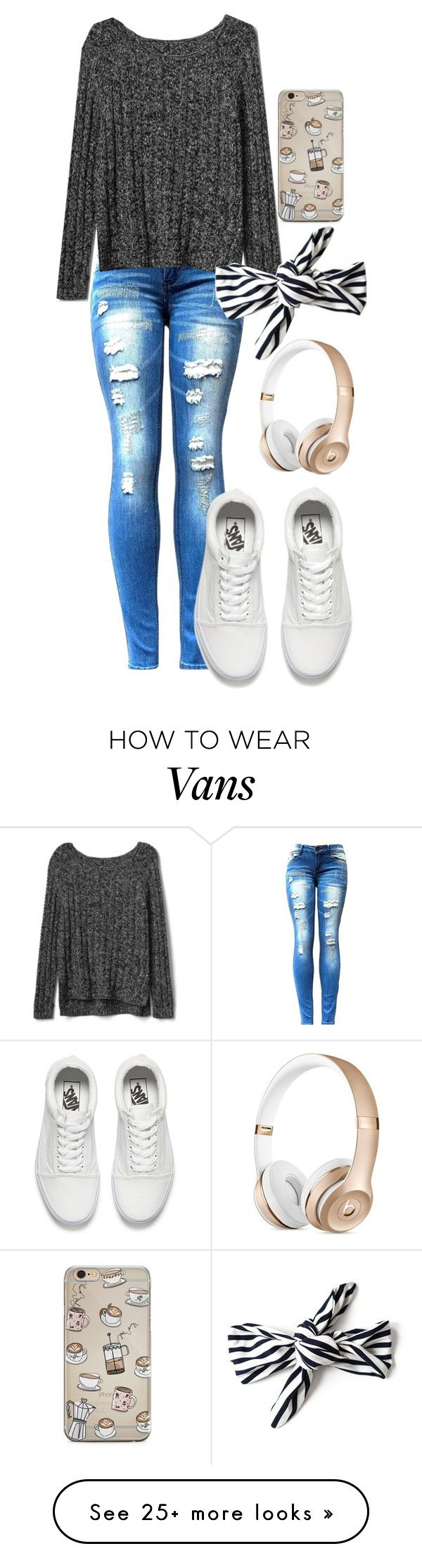 """""""Untitled #900"""" by twisted-magic on Polyvore featuring Gap and Vans"""