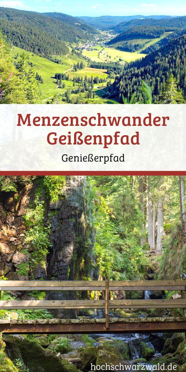 Wandern im Schwarzwald: Für alle Genießer gibt es hier den Menzenschwander Geißenpfad mit traumhaften Wasserfällen und schönen Ausblicken.