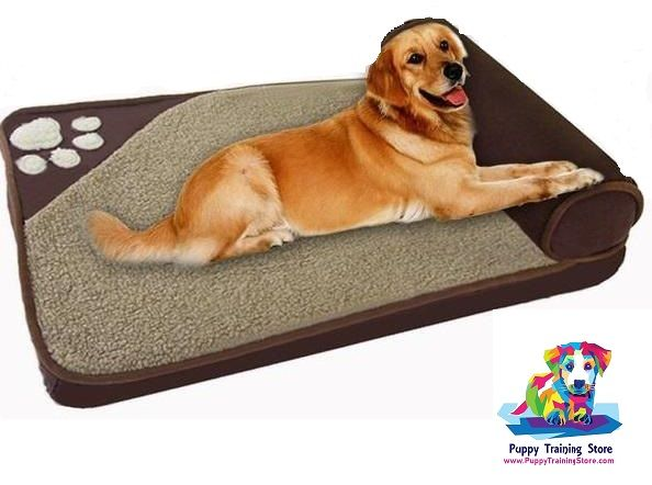 Puppy Bed Is Soft Easy To Clean And Comfy And Big Enough For When Your Puppy Grows Up Free Shipping All Day Everyday Cute Dog Beds Puppy Beds Dog Bed