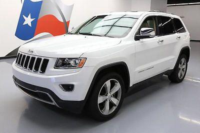 eBay: 2014 Jeep Grand Cherokee 2014 JEEP GRAND CHEROKEE LTD 4X4 SUNROOF NAV 20'S 25K #376701 Texas Direct Auto #jeep #jeeplife