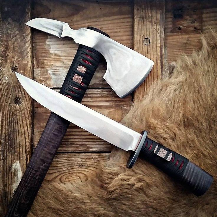 Papa tomahawks knives