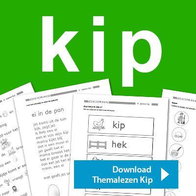 Nieuw! Themalezen kip [lespakket voor groep 2 en/of groep 3] http://onderwijsstudio.nl/product/themalezen-kip/