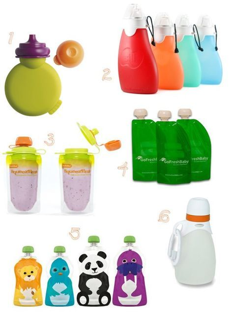 Back to School: Reusable Food Pouches